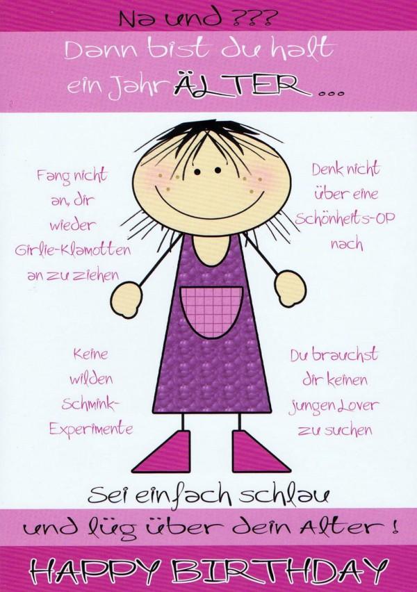Humorkarte zur Geburtstag Frauen: mit witzigen Tipps für´s Älterwerden
