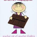 Humorkarte zur Geburtstag Frauen: mit witzigem Kompliment