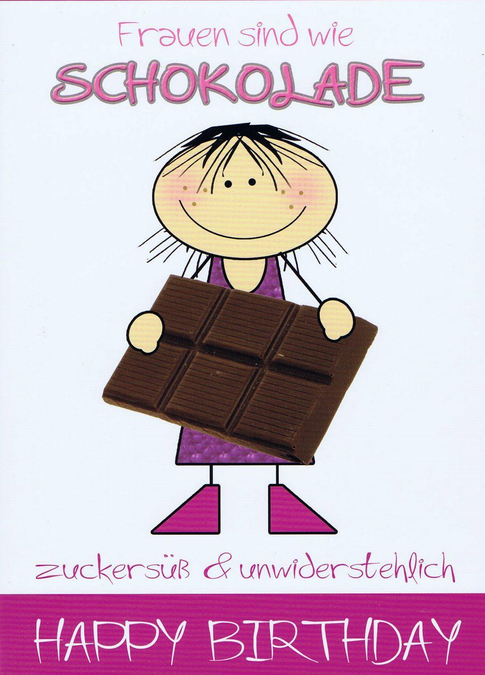 Humorkarte Zur Geburtstag Frauen Mit Witzigem Kompliment