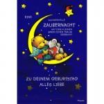 Wundervolle Zaubernacht - Kindergeburtstag - Bär und Maus