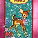 Geburtstagskarte Cotton Candy - Happy Birthday