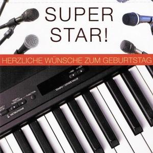 Geburtstagskarte - Du bist mein Superstar!
