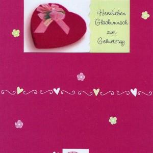 Herzliche Geburtstagskarte