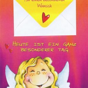 Geburtstagskarten Schutzengel mit Geldkuvert 201270
