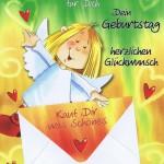 Geburtstagskarten Schutzengel mit Geldkuvert 201273