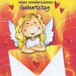 Geburtstagskarten Schutzengel mit Geldkuvert 201275