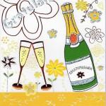 Hochwertige Geburtstagskarte - Gratulation