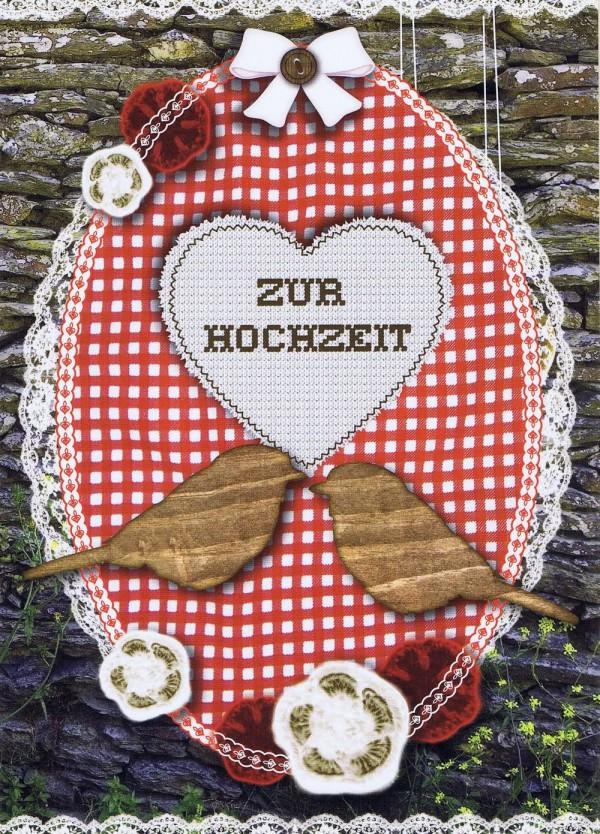 Hüttengaudi - Karte zur Hochzeit
