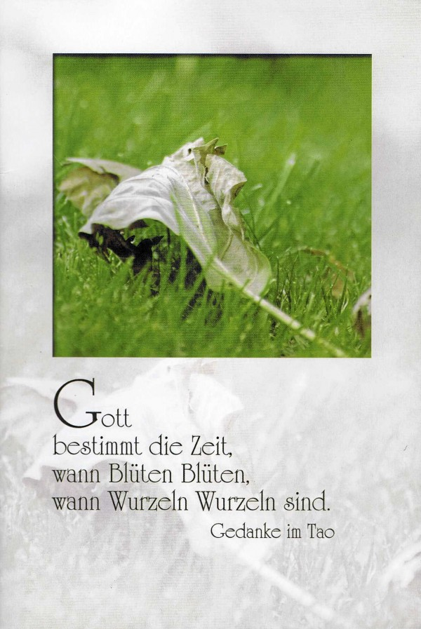 Kondolenzkarte mit Kuvert 81-1560-3