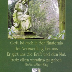 Kondolenzkarte mit Kuvert 81-1560-6