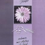 Beileidkarte, Trauerkarte, In stiller Trauer 81-400/10