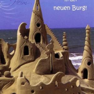 Glückwunschkarte neues Heim (neue Burg) NH103
