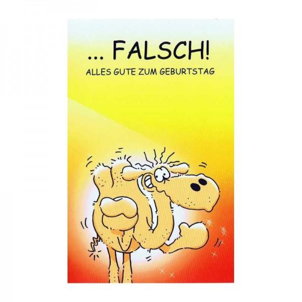 Geburtstagskarte Humor mit frechen Text, RF 64-46