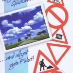 Karte zum Führerschein, Verkehrszeichen