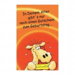 Geburtstagskarte Humor mit frechen Text, RF 64-36