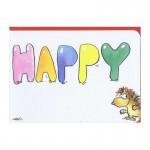 """Kleine Geburtstagskarte """"Happy Burstday"""""""