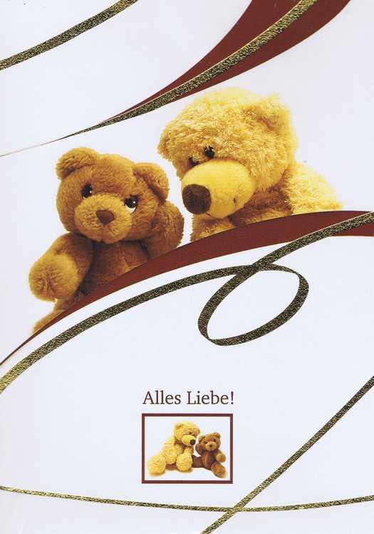 Karte Alles Liebe 41-11-019 Bärchen