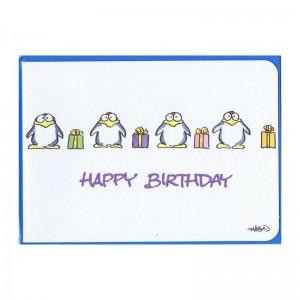 """Kleine Geburtstagskarte """"Happy Birthday"""""""