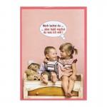 Glückwunschkarte mit Humor - Noch lachst du