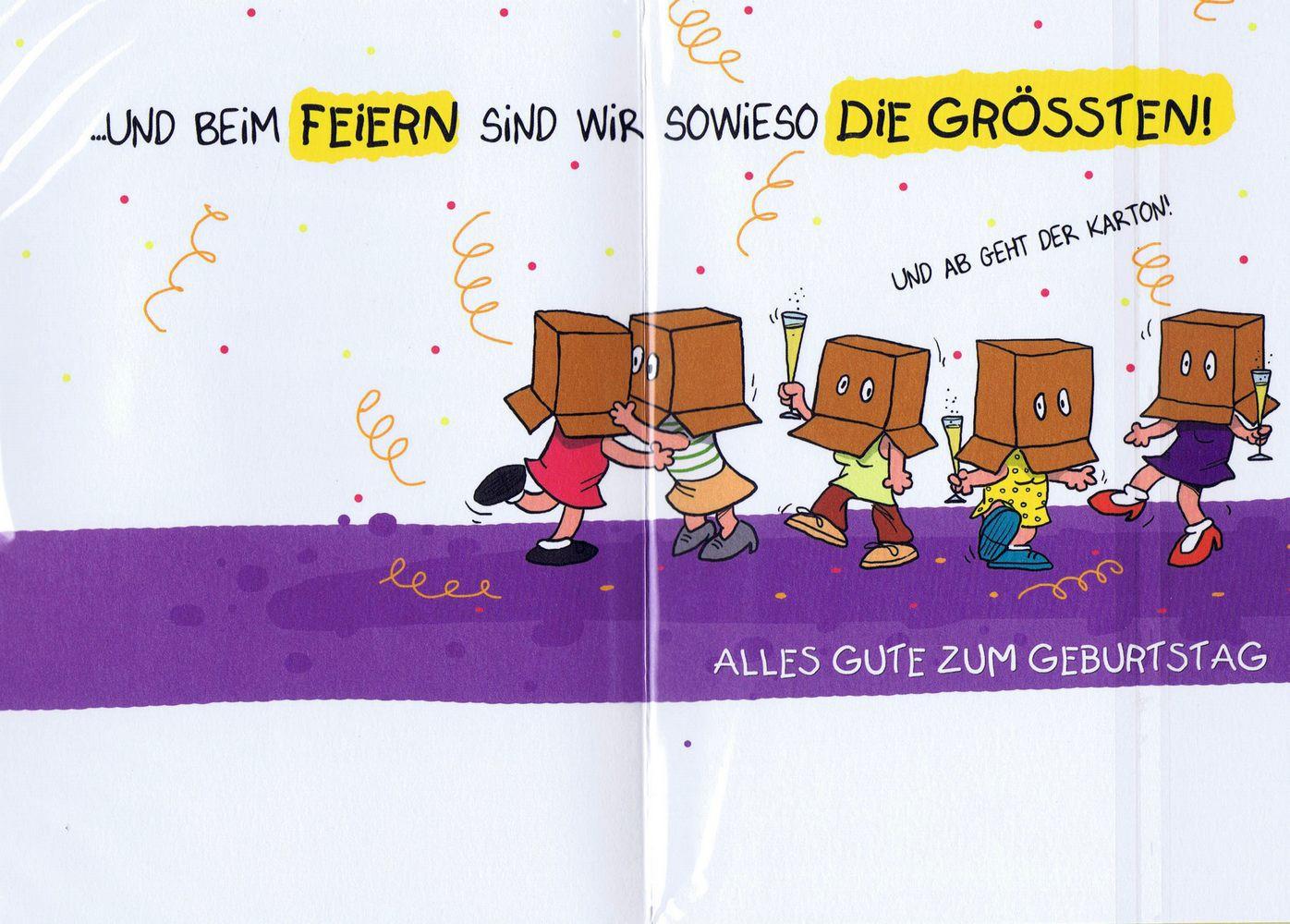 Humorkarte Zur Geburtstag Mit Frechem Spruch Alte Schachteln