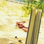 Karte, Küstenart, das Leben ist wie ein Buch