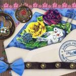 Mimi´s little garden Karte im Querformat Motiv: Airmail