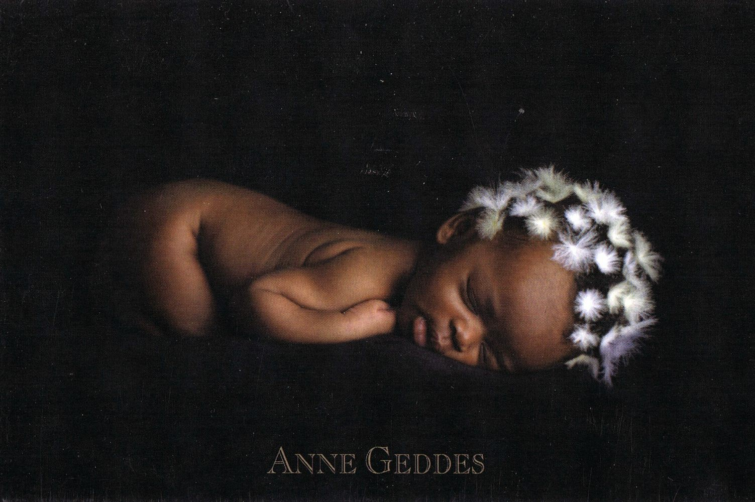 """Zauberhafte Grusskarte """"Beginnings"""" mit Motiv von Anne Geddes 173"""