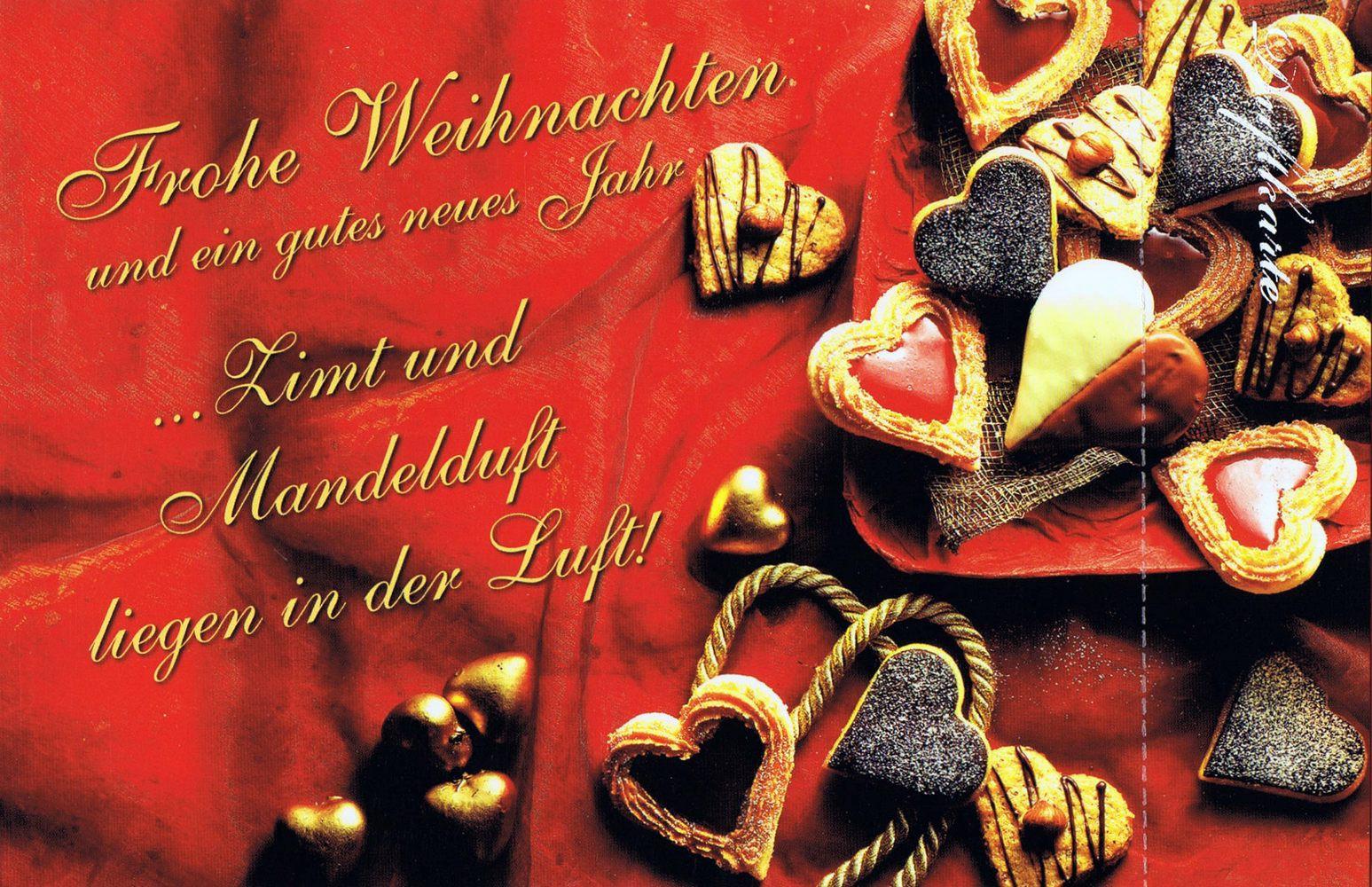 Weihnachtskarten Mit Duft.Duftkarte Weihnachten Mit Duft Nach Zimt Und Weihnachtsgebäck