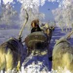 Adventskalender XXL-Briefkarte Zauberwald