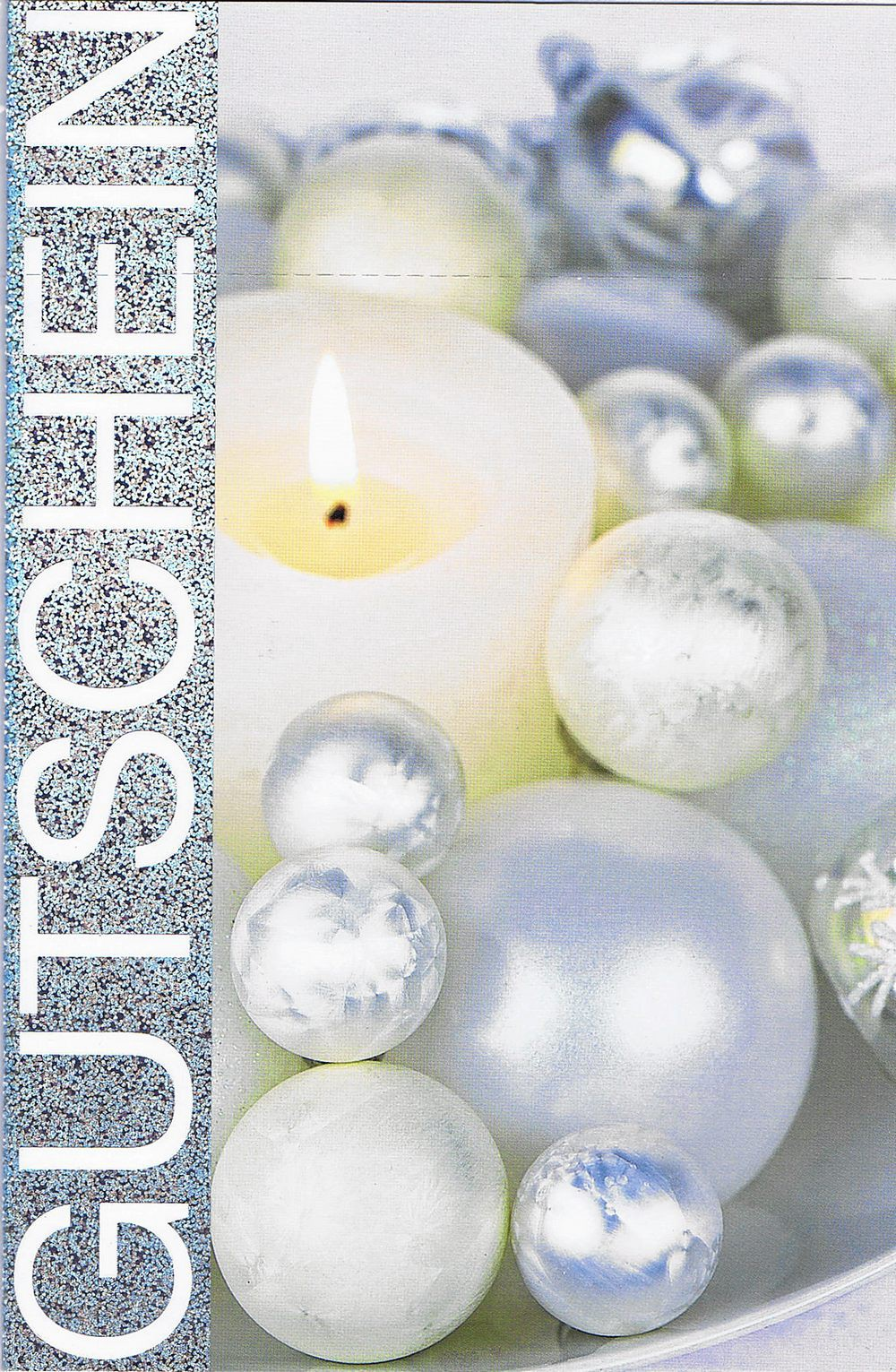 Weihnachtskarte - Gutschein 22sk4112