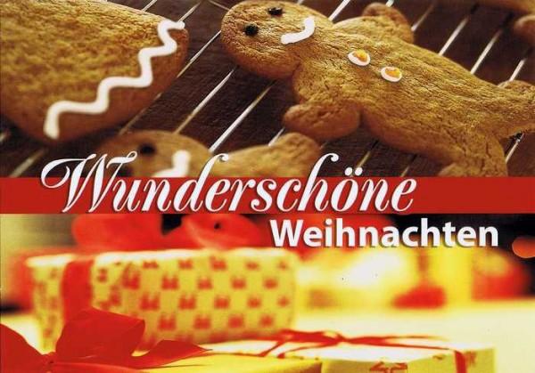 Kleine Weihnachtskarte Weihnachtsbäckerei