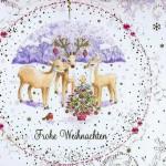 Nette kleine Weihnachtskarte - Weihnachtsmotiv