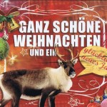 Kleine Weihnachtskarte - Elch