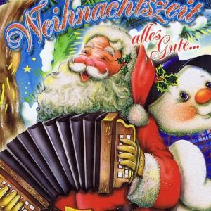 PopUp hochwertige Weihnachtskarte mit Glimmer