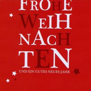 Weihnachtskarte - nur Text - Frohe Weihnachten