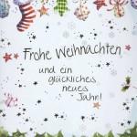 Weihnachtskarte Motiv: Weihnachten - Frohe Weihnachten