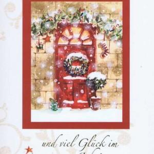 Weihnachtskarte Motiv: Weihnachten - Fröhliche Weihnachten