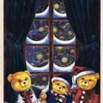 Weihnachtskarte Motiv: Bärchen - Frohe Weihnachten