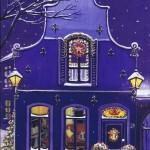 Weihnachtskarte Motiv: Weihnachten zu Hause - Frohe Weihnachten