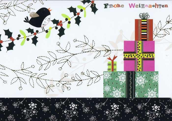 Kleine Weihnachtskarte - Weihnachten