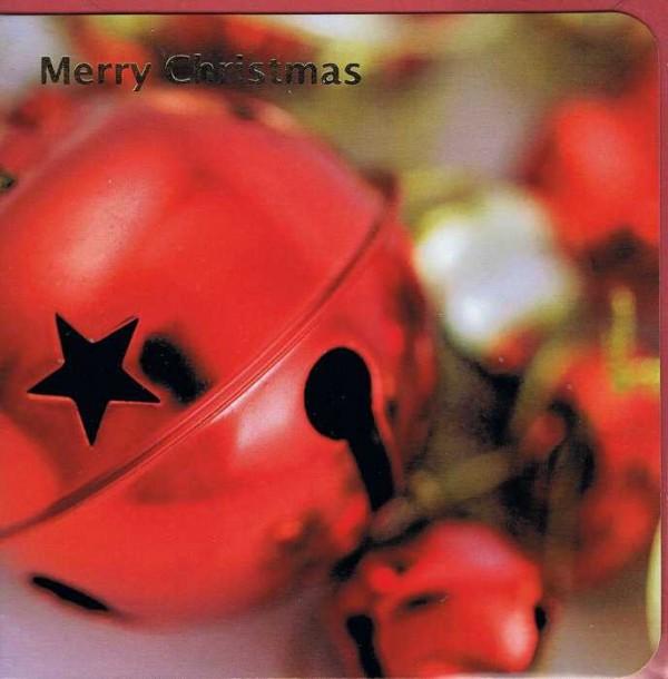 Quadratische Weihnachtskarte Merry Christmas