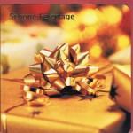 Quadratische Weihnachtskarte Schöne Feiertage