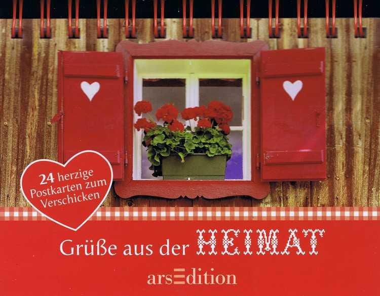 Postkartenbuch, Grüße aus der Heimat