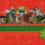 Postkartenbuch, Weihnachtliche Grüße