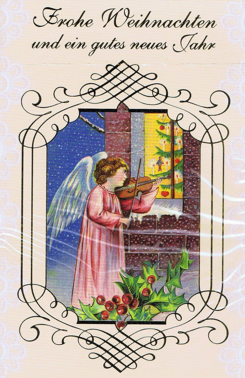 Weihnachtskarte nostalgisch 3968