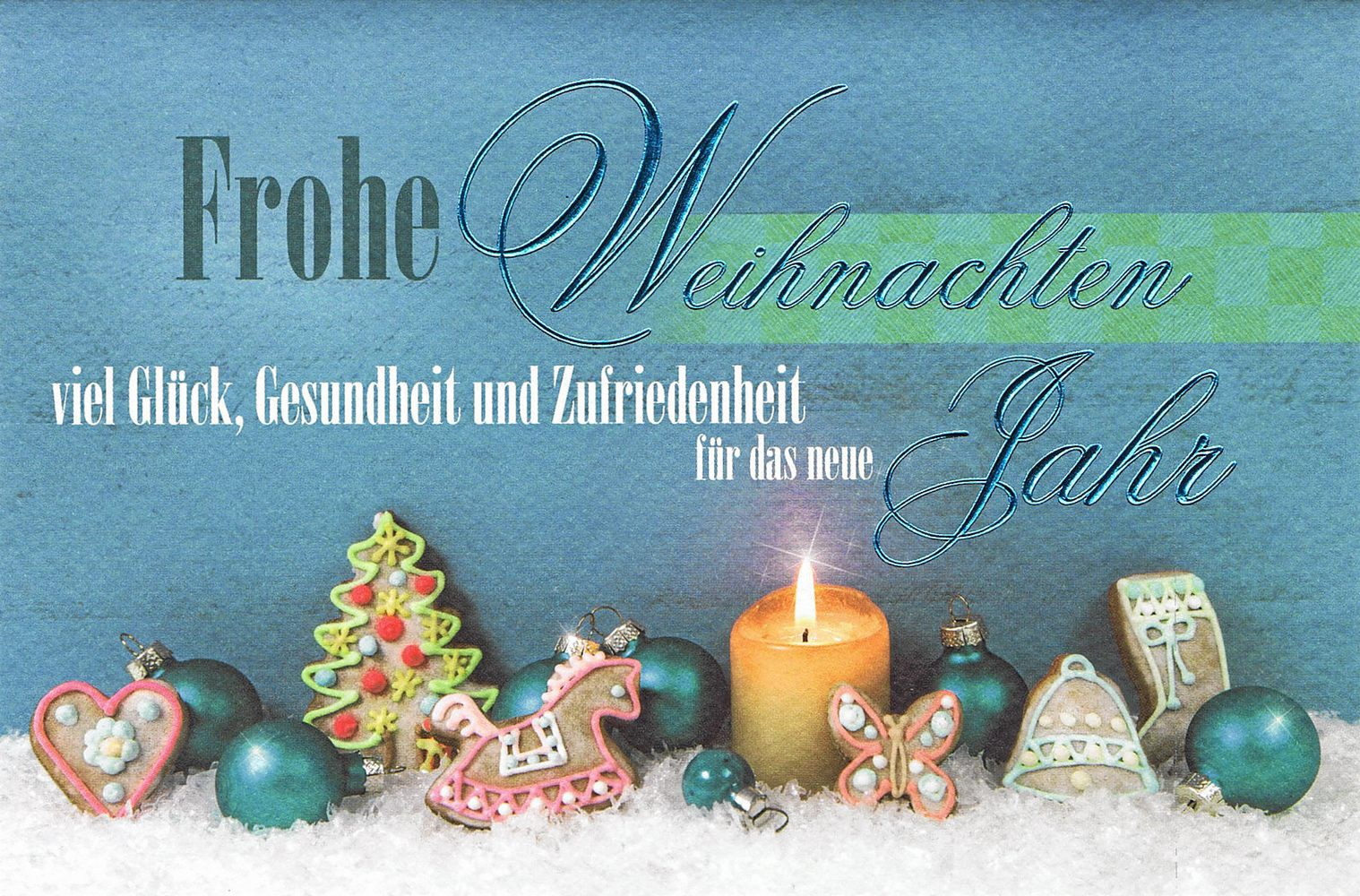 Weihnachtsmotive Für Karten.Weihnachtskarte Mit Weihnachtsmotiv Kerze