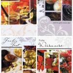 4 Weihnachtskarten mit netten Motiven für frohe Festtage