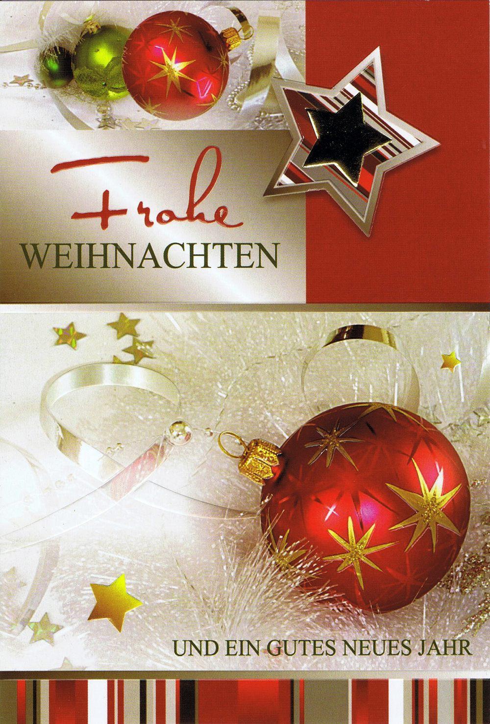 weihnachtskarte motiv weihnachtskugeln und sterne gold rot. Black Bedroom Furniture Sets. Home Design Ideas