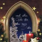 """Weihnachtskarte """"Schöne Aussicht"""" Fenstermotiv 6"""