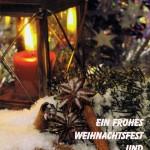 Weihnachtskarte 6 - Laterne